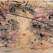 Julie Mehretu's abstract paintings